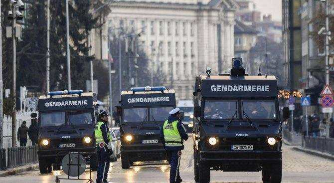 Засилени мерки за сигурност в София в новогодишната нощ