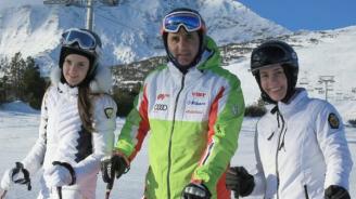 Цветанов заведе семейството си на ски в Банско