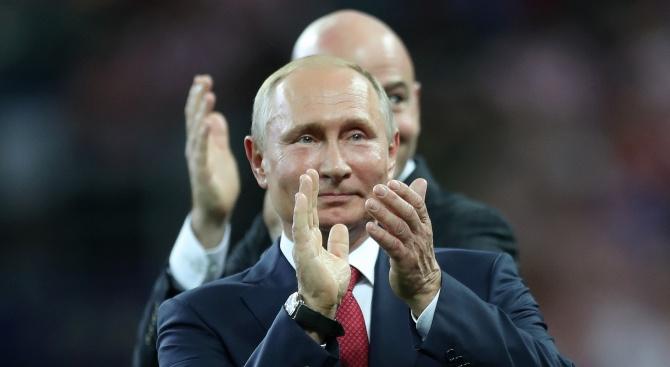 """Путин: Изпитахме успешно хиперзвуковата система """"Авангард"""" (видео)"""