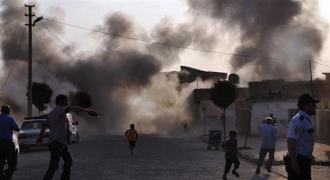 Минометни снаряди са се взривили близо до американското посолство в Багдад