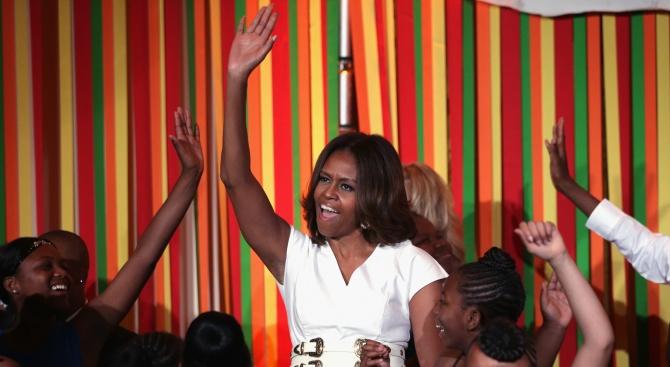 Мишел Обама измести Хилари Клинтън като жената, която буди най-голямо възхищение в Америка