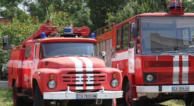Дядо загина при пожар в къща в град Долна Баня