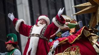 Дядо Коледа успешно раздаде 7,3 милиарда подаръка