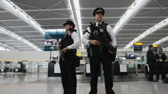 Задържаха мъж на лондонсколетище за подготовка на атентати