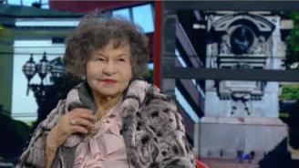 Стоянка Мутафова: В работата си никога не съм доволна, намирам само дефектите си (видео)