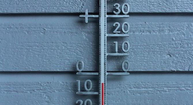 Температурата в Севлиево падна до минус 17 градуса