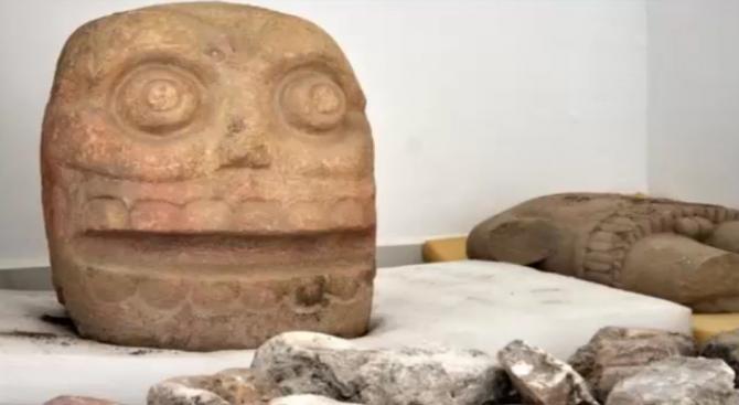 Мексикански археолози откриха храм на Одраното божество