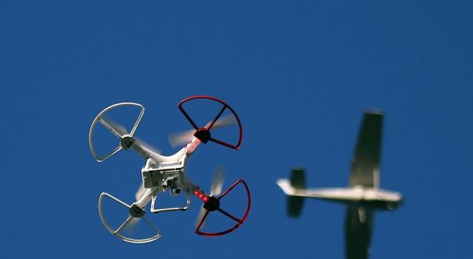 Британски летища с ново оборудване против дронове