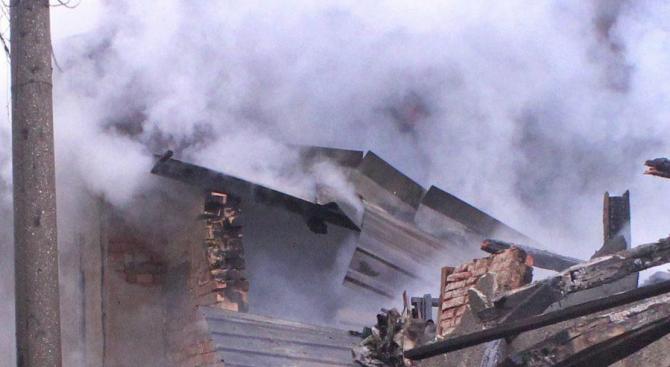 Мъж загина при пожар в Лясковец