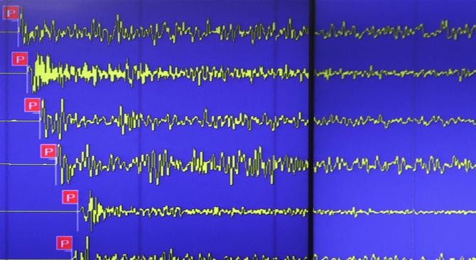 Земетресение със сила 6,6 бе регистрирано на 170 км северозападно