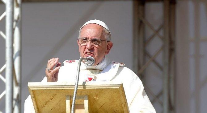 Папата ще посети Румъния на 31 май