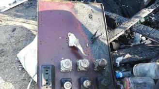 Паянтова постройка изгоря при пожар днес в пловдивското село Войводиново