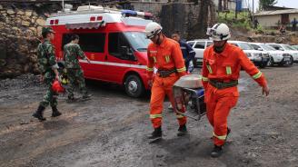 Броят на загиналите при срутването във въгледобивна мина в Китай достигна 21