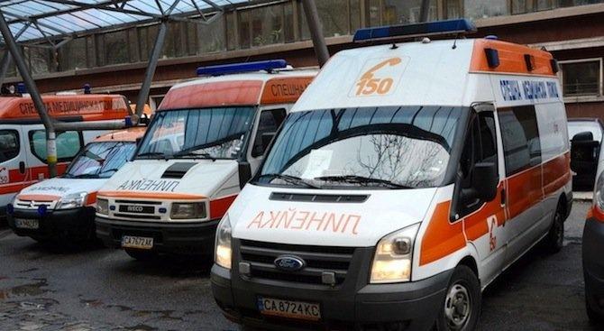 Спешно оскотяване е кражбата на линейка!