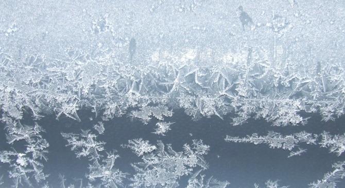 В Кнежа е било най-студено тази сутрин
