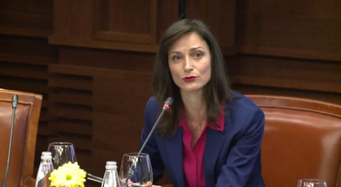 """Мария Габриел: Създаваме нова платформа """"Изкуствен интелект по заявка"""" с финансиране от 20 млн. евро"""