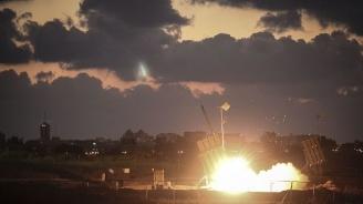 Израелската ПВО е прехванала ракета от ивицата Газа