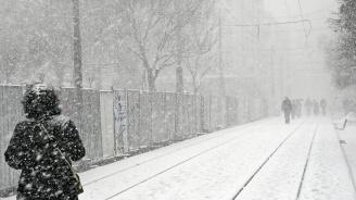 Жълт код за сняг в 11 области утре