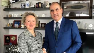Цветанов проведе работна среща с посланика на Австрия в България Н. Пр. Андреа Вике
