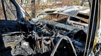 Лек автомобил изгоря в Петрич