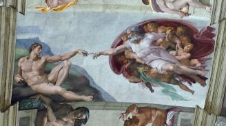 Отмъкнаха Микеланджело от църква