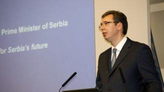 Вучич към Путин: Русия има верен партньор в лицето на малка Сърбия