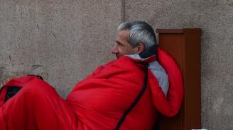 155 души са настанени в Кризисния център за бездомни хора в София