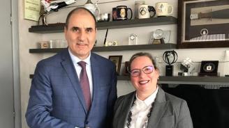 Цветанов проведе работна среща с посланика на Израел в България