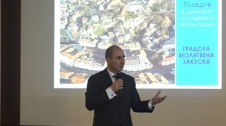 Цветанов в Пловдив: Заедно сме по-силни (снимки)