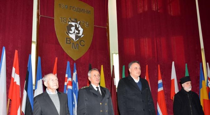 Щабът на ВМС във Варна празнува юбилей (снимки)