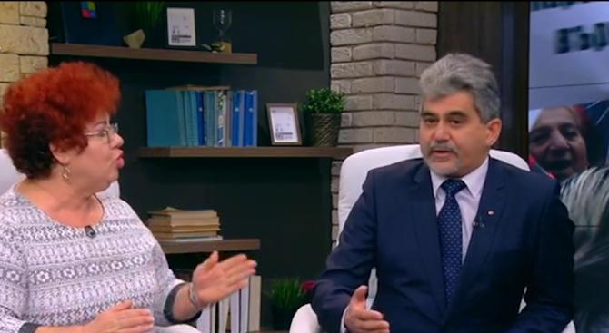 Жесток скандал в ефира между водачката на ромския протест и ВМРО