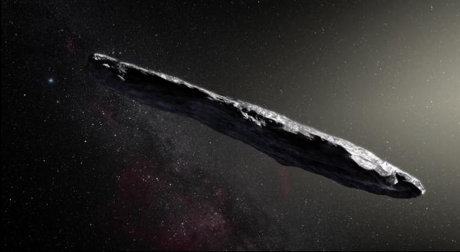 Оумуамуа - загадъчният космически обект с форма на пура, може