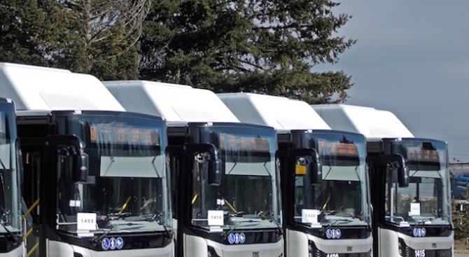 Фандъкова ще провери готовността за пускане на нови автобуси в столичният градски транспорт