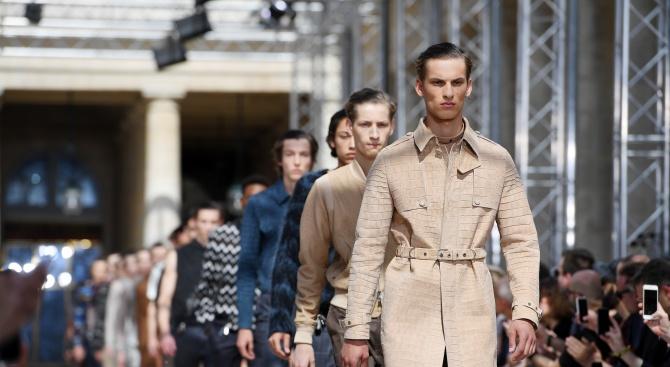 Снимка: Седмицата на мъжката мода в Париж бе открита при