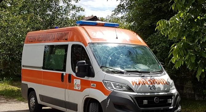 Блъснаха жена на тротоар във Варна