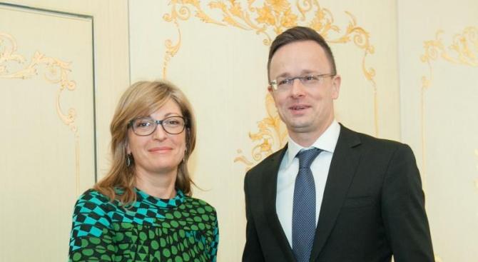 Унгария изрази готовност да подкрепи България в по-нататъшните й усилия