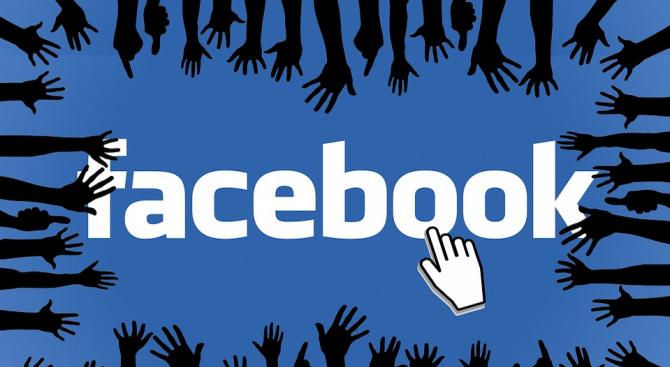 Социалната мрежа Фейсбук в интернет обяви, че е отстранила стотици