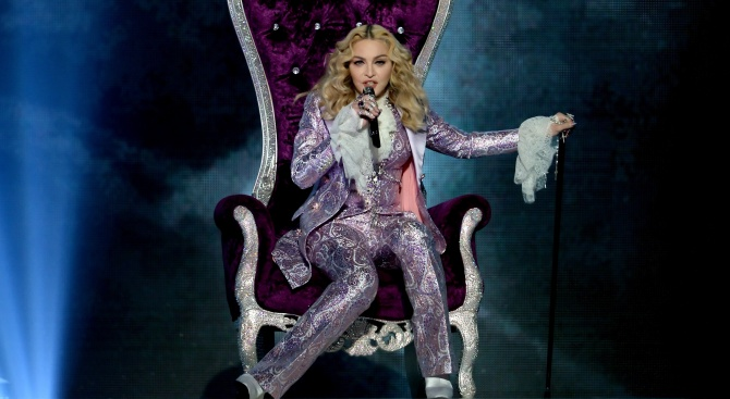 Снимка: Мадона подготвя турне