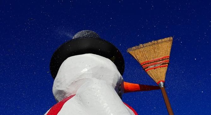 Снимка: Отбелязваме Международния ден на снежния човек