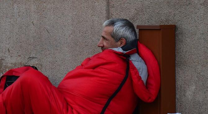 155 души са настанени в Кризисния център за бездомни хора