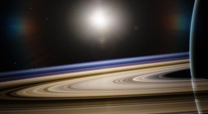 Снимка: Пръстените на Сатурн са сравнително млади