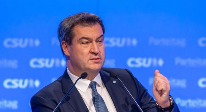 Премиерът на Бавария Маркус Зьодер бе избран днес за председател