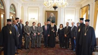 Патриарх Неофит се срещна с посланиците на арабските държави у нас
