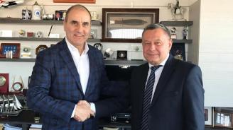 Цветан Цветанов се срещна с посланика на Украйна в България Н.Пр. Виталий Москаленко