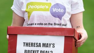 До момента 47 депутати са обявили, че ще подкрепят сделката за Брекзит, 128 са против