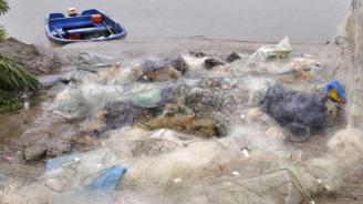 """Бракониерски мрежи и риба са извадени от водите на язовир """"Ястребино"""""""