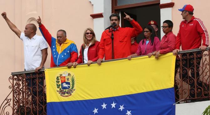 Мадуро: Прекъсваме отношенията си със САЩ, те искат държавен преврат