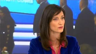 """Мария Габриел разкри за кого е била репликата на Борисов """"нахейти ви първата дама, а вие мълчите"""" (видео)"""