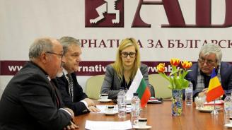 Ръководството на АБВ се срещна с посланика на Румъния