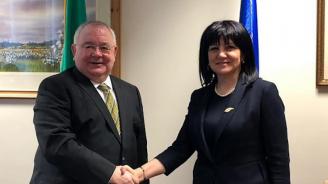 Цвета Караянчева е на посещение в Ирландия